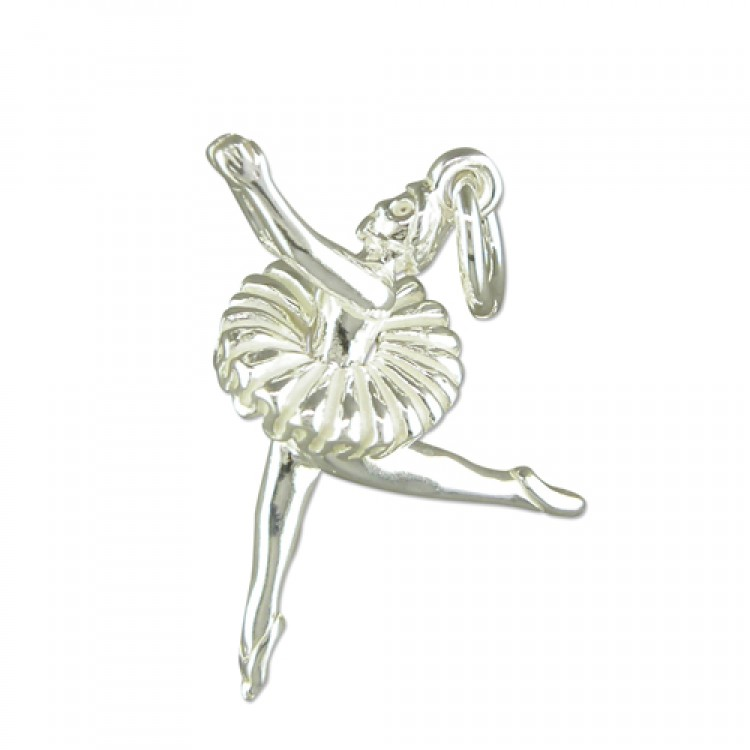 Ballerina with pleated skirt
