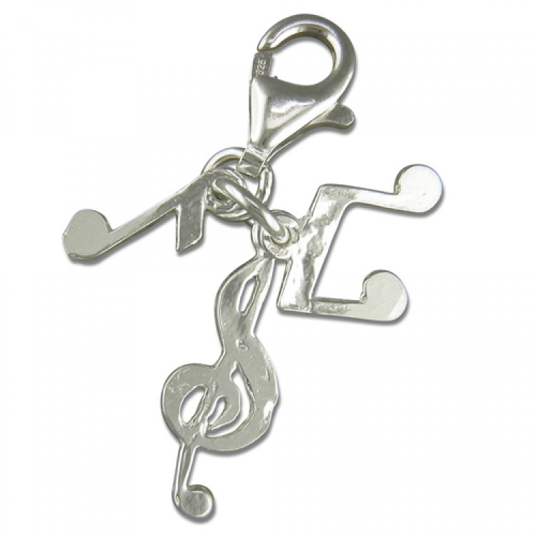Clip on music notes