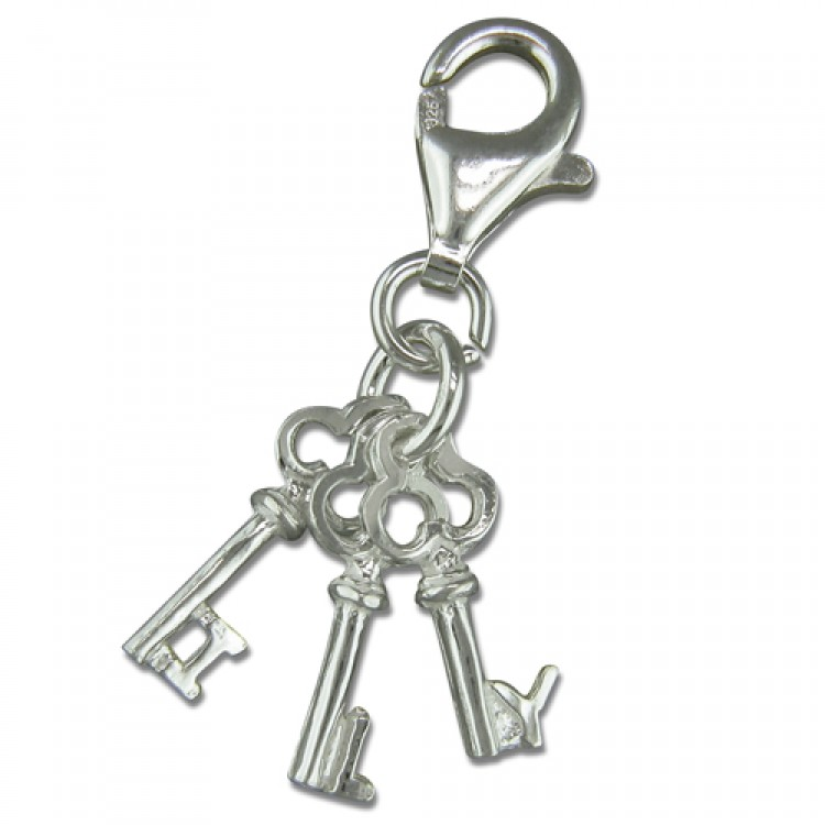 Clip on I-Love-You keys