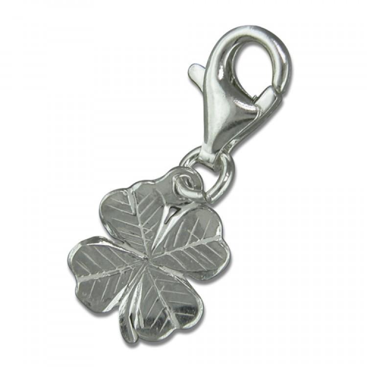 Clip on 4-leaf clover