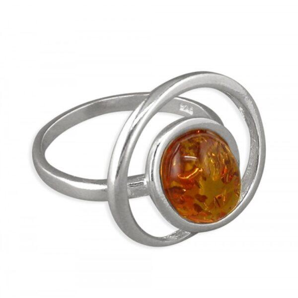 Cognac amber in swirl