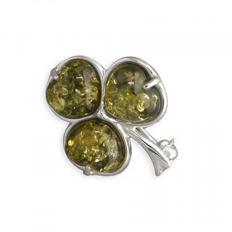 Green amber shamrock