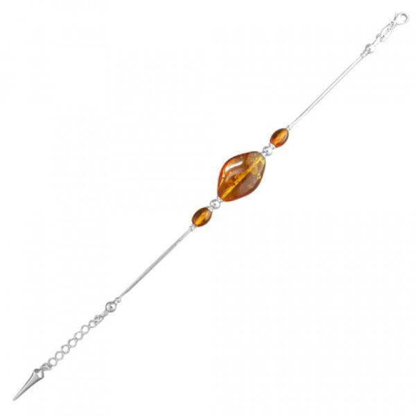 Cognac amber irregular shapes