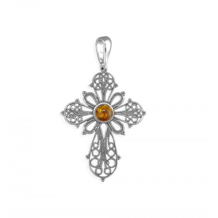 Cognac amber ornate