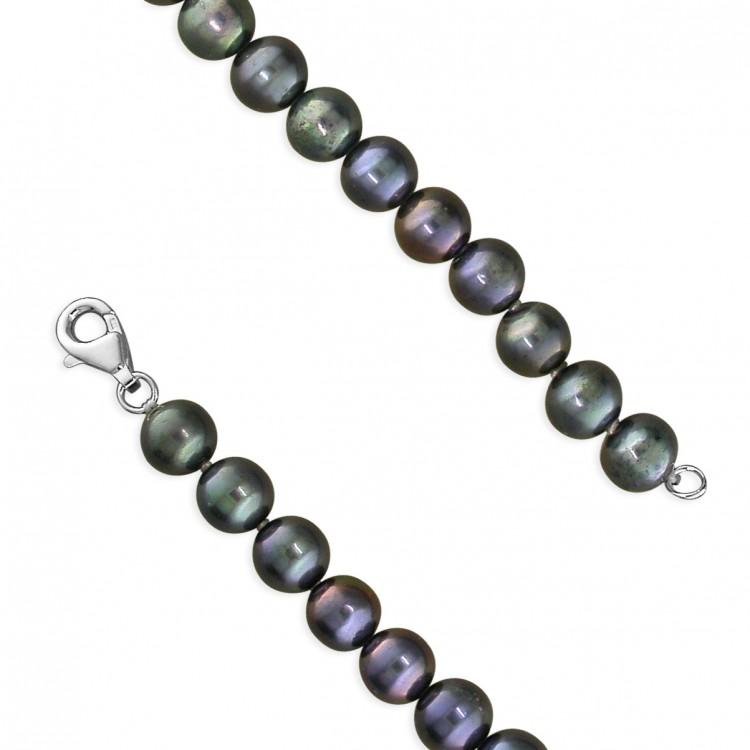 46cm/18in 7-8mm peacock pearls