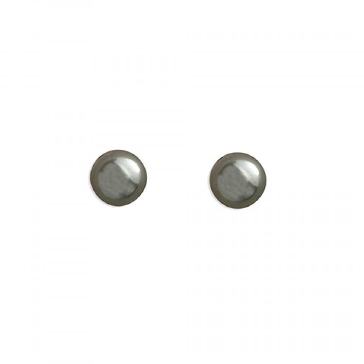 4mm dark oxidised bead stud