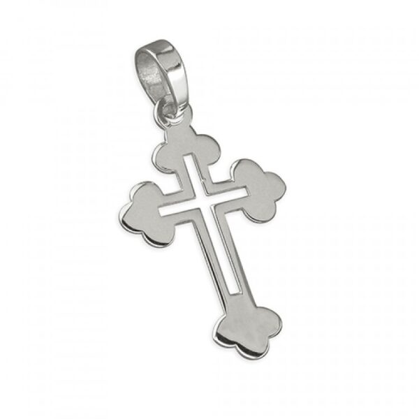 Large cross with cutout centre