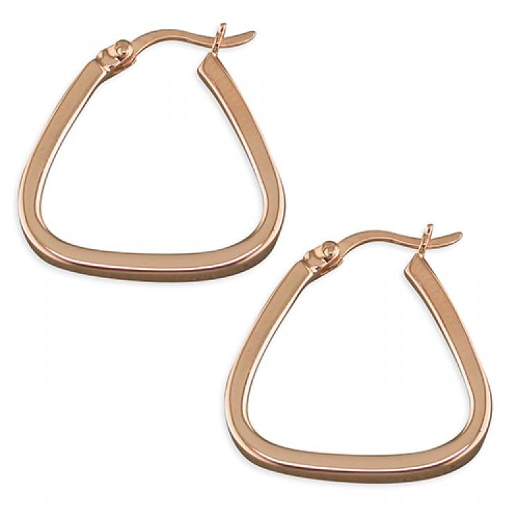 20mm rose gold plated handbag hoop