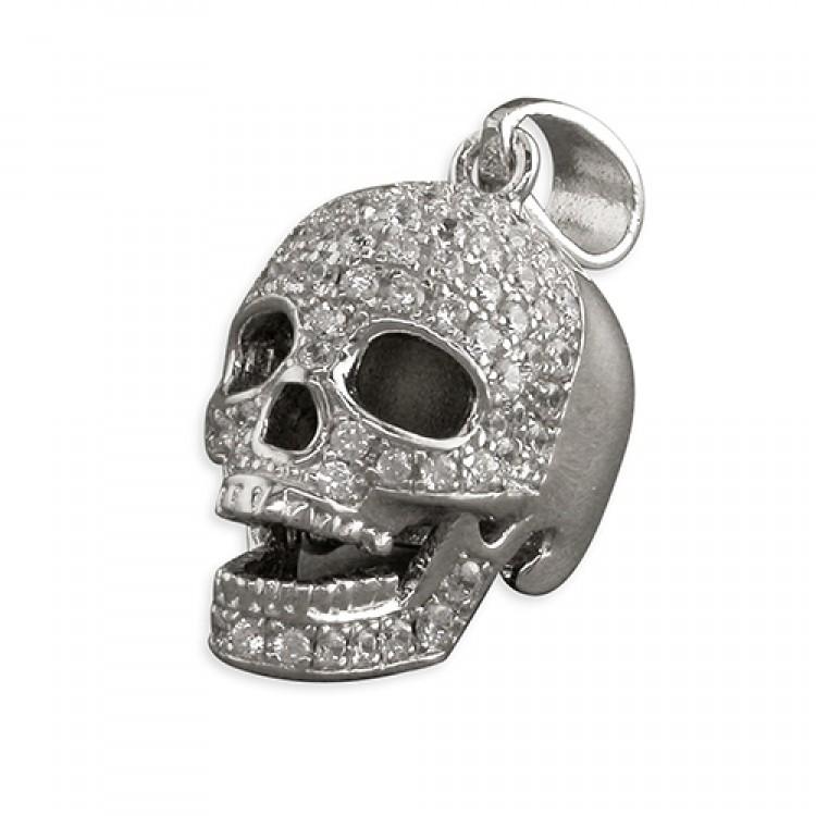 Cubic zirconia skull