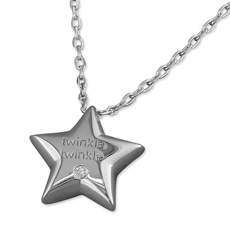 38-40cm cubic zirconia twinkle star