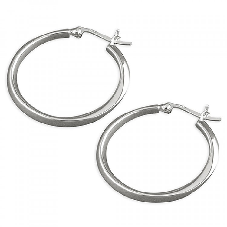 28mm D-section twisted hoop