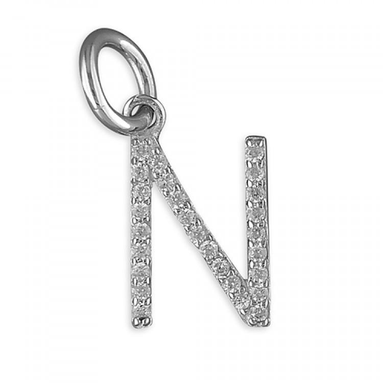 N Thin cubic circonia initial