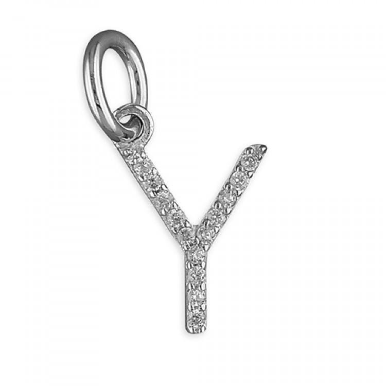 Y Thin cubic circonia initial