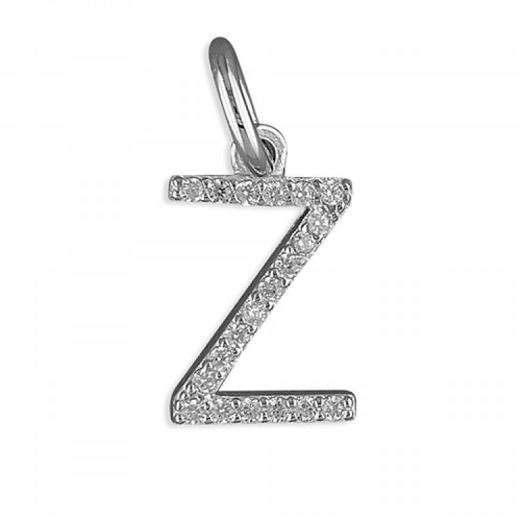 Z Thin cubic circonia initial