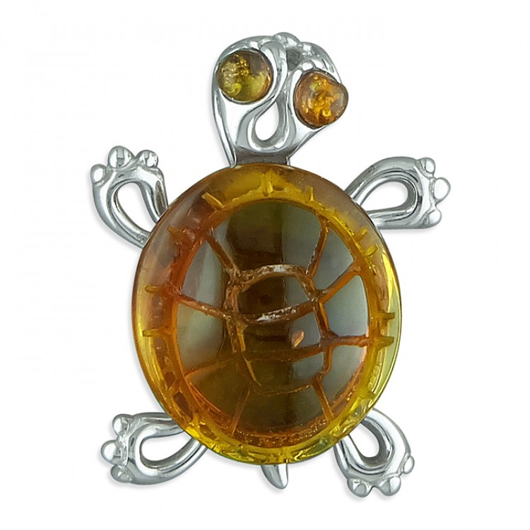 Cognac amber tortoise