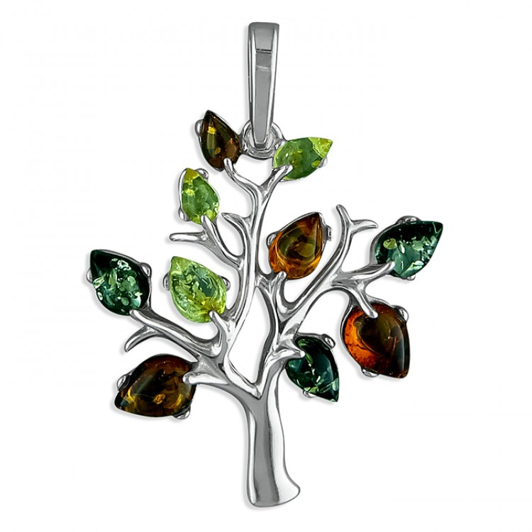 Mixed amber tree-of-life