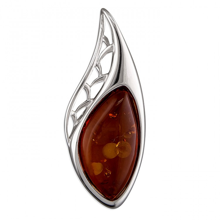 Cognac amber abstract