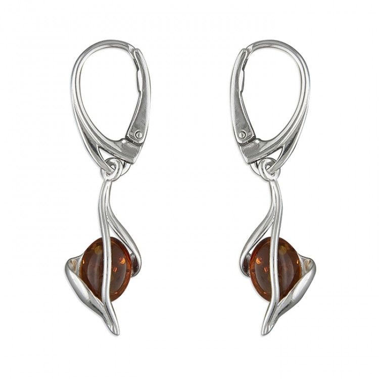 Cognac amber in twist drop