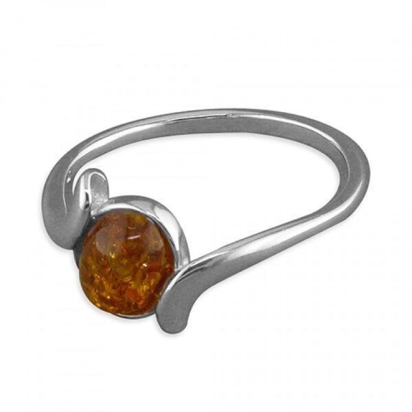 Cognac amber in cross-over
