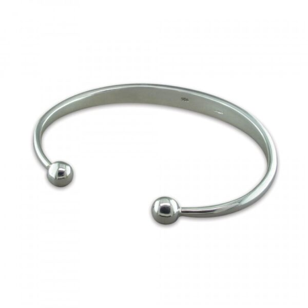 Mens heavy solid torc