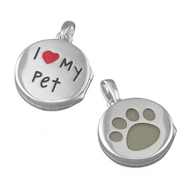 Pippa I-Love-my pet disc pendant