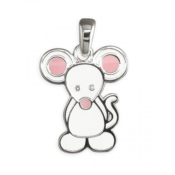 Pippa mouse pendant