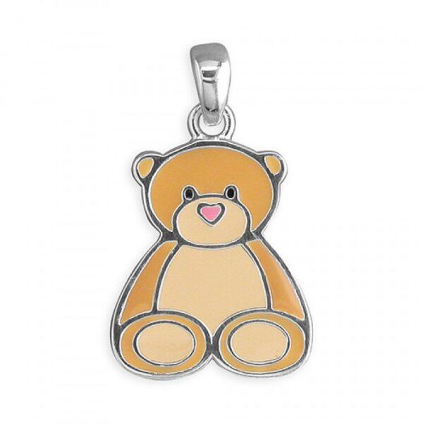 Pippa teddy bear pendant