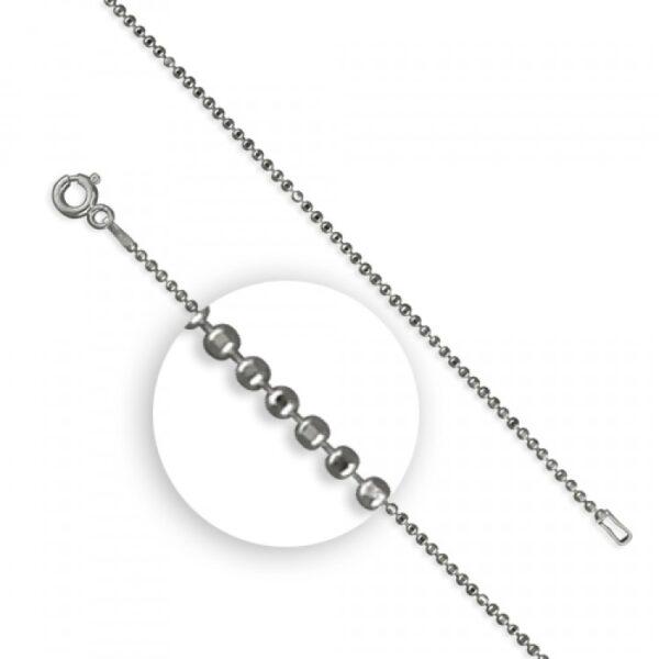 41cm/16in light diamond cut beads