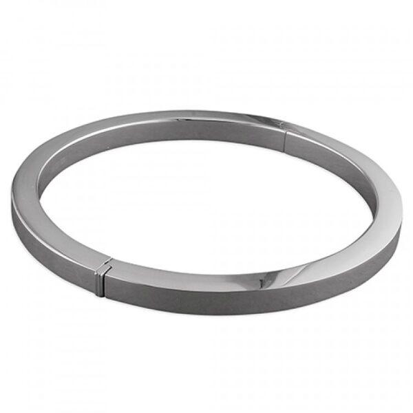 Square tube round hinged