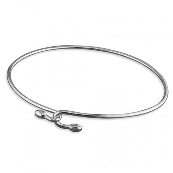 Plain wire sprung hook