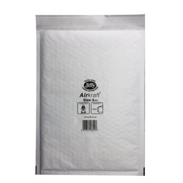White jiffy bag Peel & Seal 170 X 245 mm