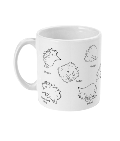 Yoga Hedgehog Mug