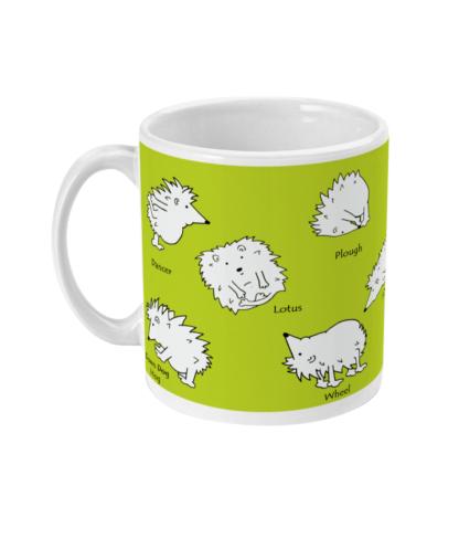 Hedgehog Yoga Mug