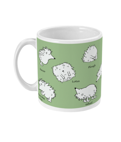 Yoga Gifts Yoga Mug Hedgehog Gift Hedgehog Mug