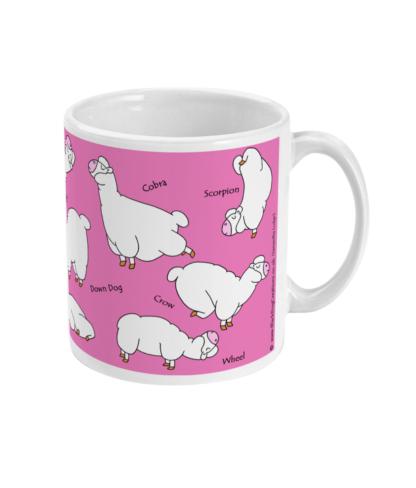 Yoga Mug Yoga Gifts Alpaca Mug Llama Mug