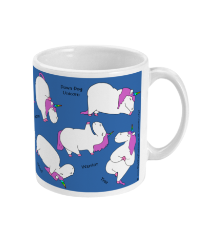 Yoga Mug Yoga Gifts Unicorn Mug