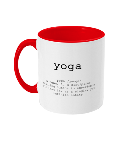 Yoga Definition Mug Yoga Quotes