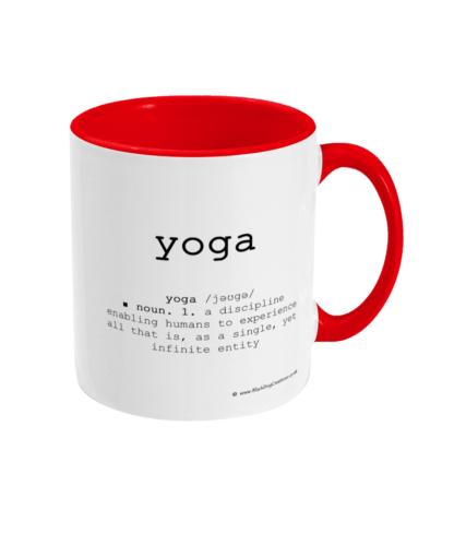 Yoga Definition Mug Yoga Quotes
