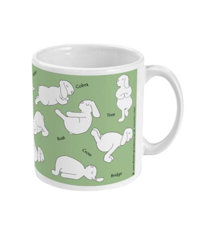 Funny yoga mug Yoga Bunny Yoga Gifts Yoga Rabbit Bunny, Bunny Mug Rabbit Mug, Rabbit Lover Gift Mug Bunny Lover