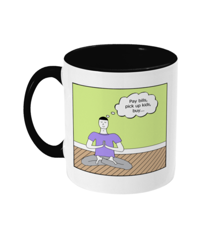 Yoga Meditation Mindfulness Gift To Do List To Do List Zen Dad Yoga Class Meditation Class Mindfulness Class Funny Mug Christmas Gifts Christmas Gifts Birthday Gift Busy Parent