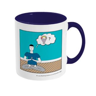 Yoga Class Mindfulness Class Meditation Class Parking Meter Ceramic Coffee Mug
