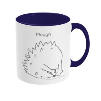 Hedgehog Yoga Pose Mug