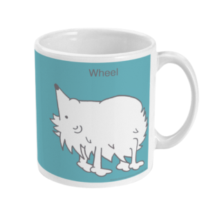 Hedgehog Yoga Pose Mug – Funny Wheel Pose 11 floz Coffee Mug