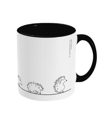 Hedgehog Yoga Mug Hedgehog Mug Hedgehog Evolution LINHOGTT