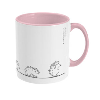 Hedgehog Yoga Mug Hedgehog Mug Hedgehog Evolution LINHOGTT