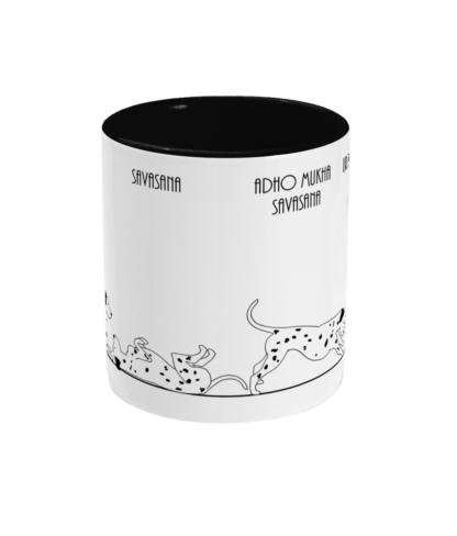 dalmatian Yoga Mug 11floz Ceramic Coffee Mug