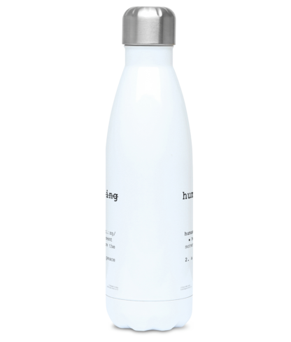 Human Being Definition-Yoga Water Bottle-Stainless Steel Water Bottle 500ml