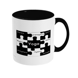 8 Limbs of Yoga Jigsaw Mug (Y_8LIMBS_JIGSAW_MUG_TT_BLK)
