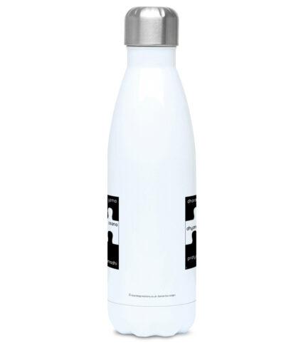 8 Limbs of Yoga Jigsaw Water Bottle 500ml Stainless Steel ( Y_8LIMBS_JIGSAW_WB500ML)