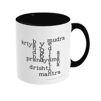 Kundalini Yoga Elements Crossword Ceramic Mug
